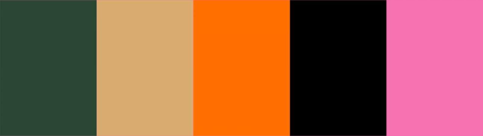 Dunkelgrün und seine aktuellen Farbpartner